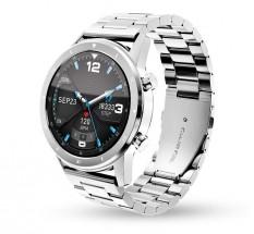 Smart hodinky Aligator Watch Pro, 3x remienok, strieborná