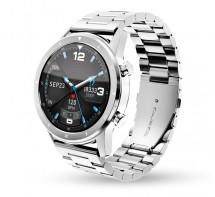 Smart hodinky Aligator Watch PRO,strieborná +3 remienky v balení