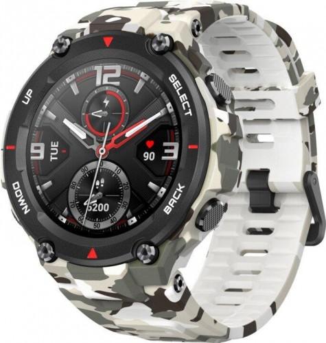 Smart hodinky Amazfit T-Rex, Camo Green