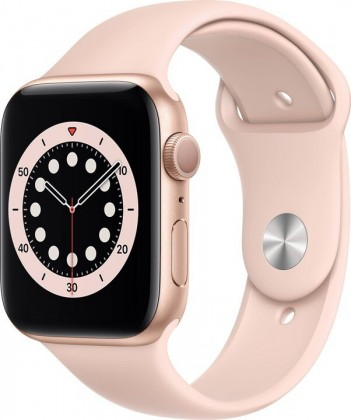 Smart hodinky Apple Watch S6 GPS, 44mm, ružová