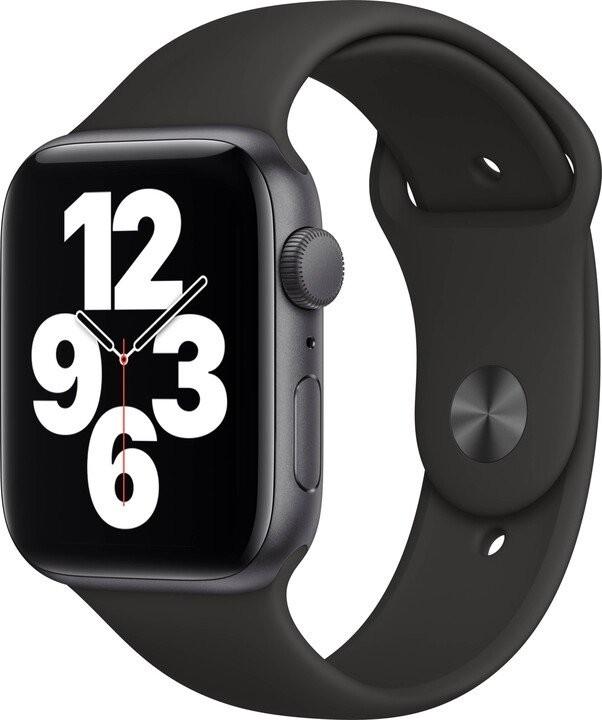 Smart hodinky Apple Watch SE GPS, 44mm, šedá