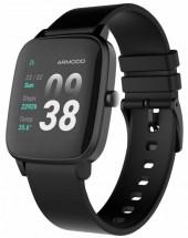 Smart hodinky Armodd Slowatch, čierne