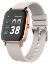 Smart hodinky ARMODD Slowatch, zlatá/ružová