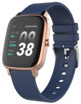 Smart hodinky Armodd Slowatch, zlaté/modré