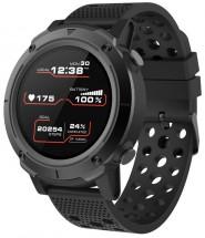 Smart hodinky Canyon Wasabi, športové, IP68, GPS, čierna