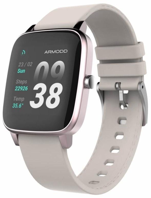 Smart hodinky Chytré hodinky Armodd Slowatch, ružová