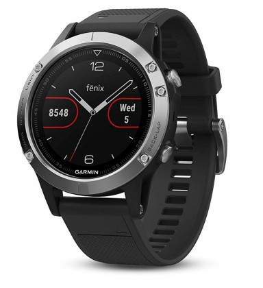 Smart hodinky Chytré hodinky Garmin Fenix ??5 Optic Silver, čierna