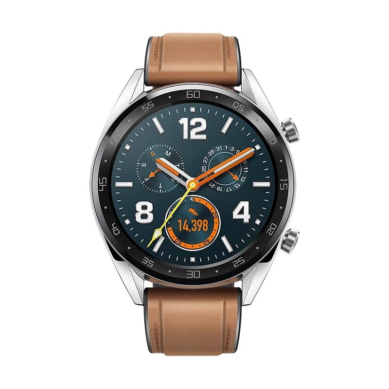 Smart hodinky Chytré hodinky Huawei Watch GT CLASSIC, strieborná