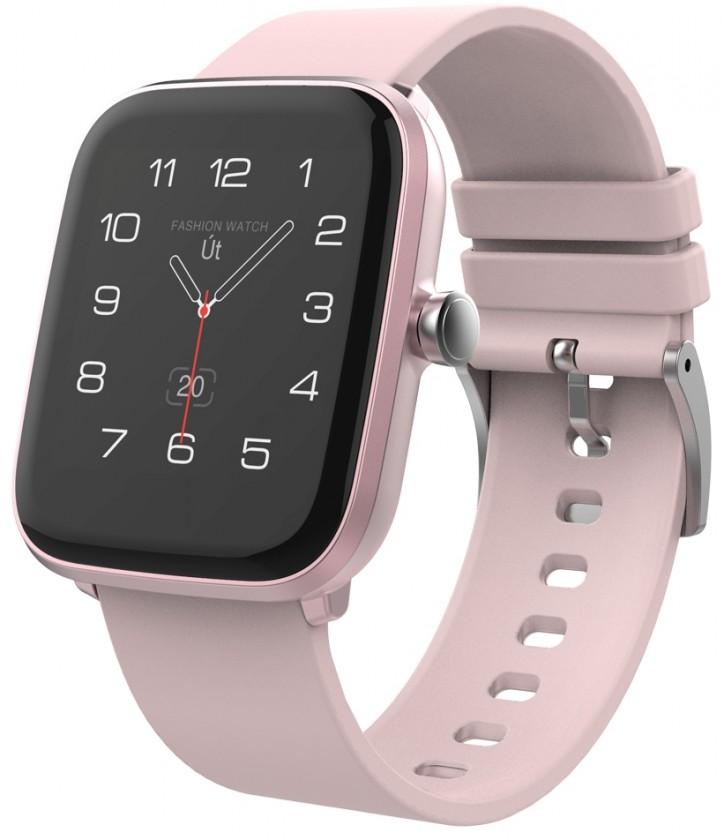 Smart hodinky Chytré hodinky iGET Fit F20, ružová