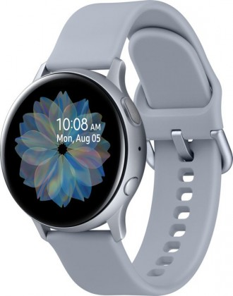 Smart hodinky Chytré hodinky Samsung Galaxy Watch Active 2, 40mm, strieborná