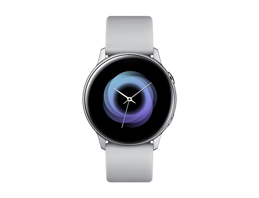 Smart hodinky Chytré hodinky Samsung Galaxy Watch Active R500,strieborná/biela