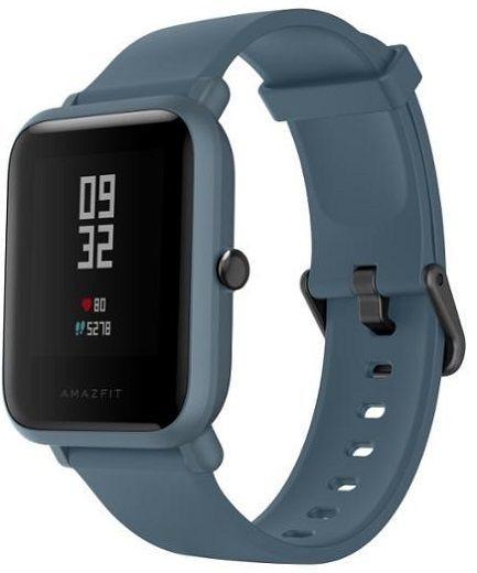 Smart hodinky Chytré hodinky Xiaomi Amazfit Bip Lite, modrá POUŽITÉ, NEOPOTREB