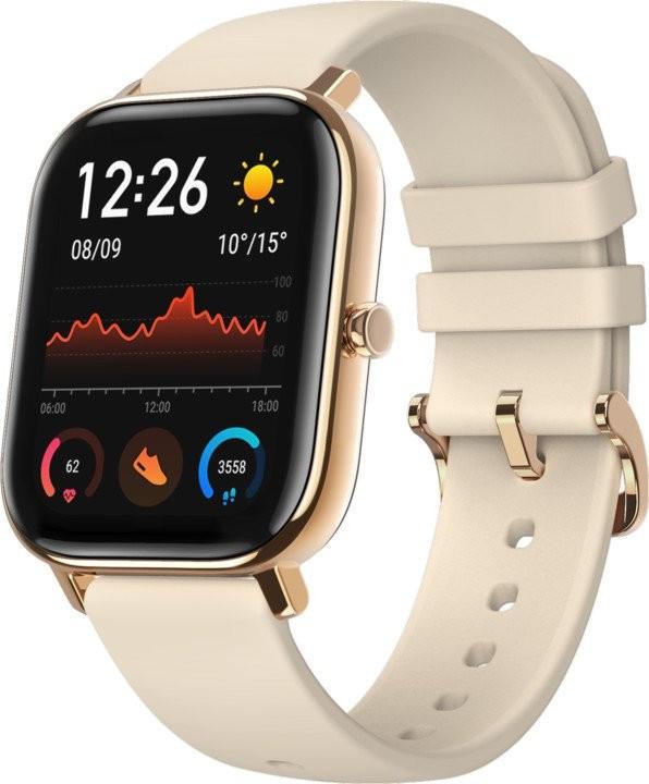 Smart hodinky Chytré hodinky Xiaomi Amazfit GTS, zlatá