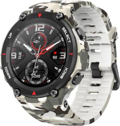Smart hodinky Chytré hodinky Xiaomi Amazfit T-Rex, Camo Green
