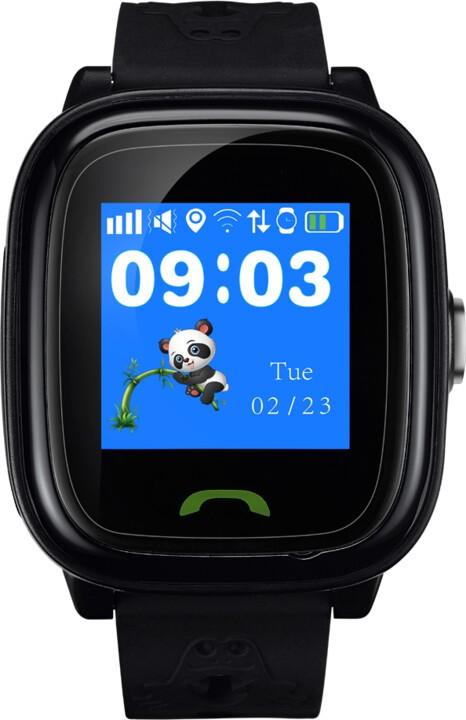 Smart hodinky Detské smart hodinky Canyon Polly Kids, GPS + GSM, čierna