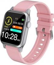 Smart hodinky Deveroux P 18, ružová