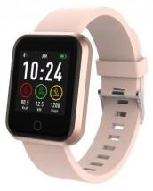 Smart hodinky Forever ForeVigo SW300, dva remienky, ružovo-zlaté