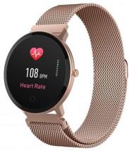 Smart hodinky Forever ForeVive SB-320, ružové/zlaté
