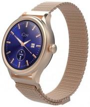 Smart hodinky Forever Icon AW-100, zlaté