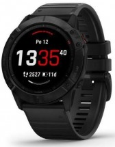 Smart hodinky Garmin Fenix 6x Pro Glass, čierna + Voucher
