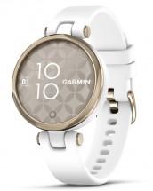 Smart hodinky Garmin Lily Sport, zlaté/biele
