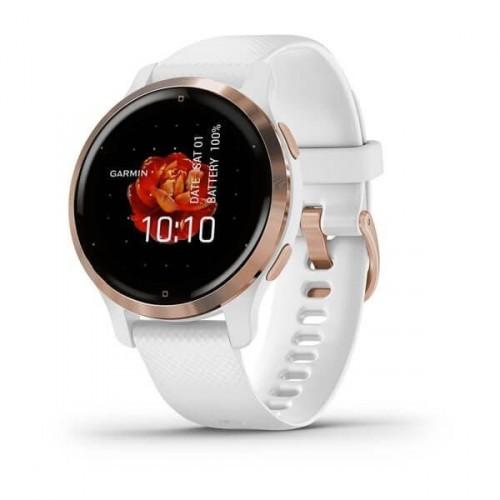 Smart hodinky Garmin Venu 2S, ružovo/zlaté