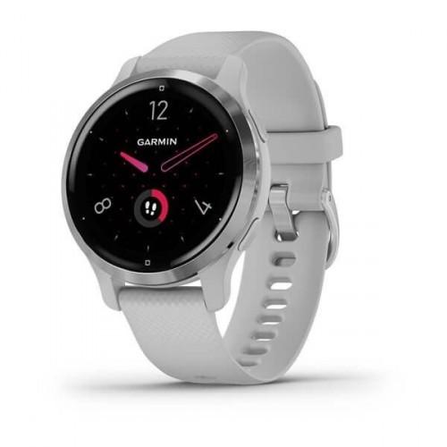 Smart hodinky Garmin Venu 2S, strieborné