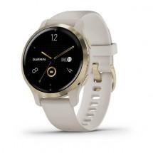 Smart hodinky Garmin Venu 2S, zlaté