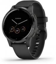 Smart hodinky Garmin Vívoactive 4S, čierna/sivá