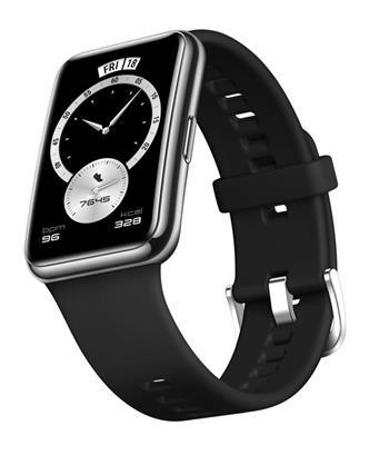 Smart hodinky Huawei Watch Fit Elegant, čierne