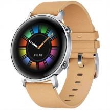 Smart hodinky Huawei Watch GT2 42 mm, hnedá