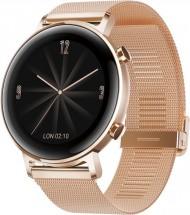 Smart hodinky Huawei Watch GT2 42 mm, zlatá