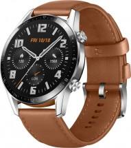 Smart hodinky Huawei Watch GT2, hnedá