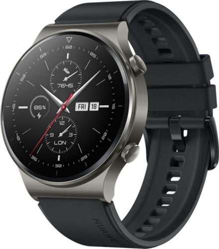 SMART hodinky Huawei Watch GT2 Pro, športovný remienok, čierna