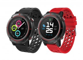 Smart hodinky iGET Active A8, 2 remienky, čierna