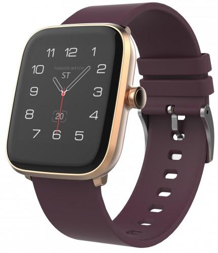 Smart hodinky iGET Fit F20, zlaté