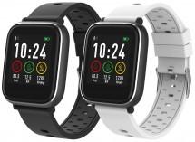 Smart hodinky iGET Fit F3, 2 remienky, čierna, POUŽITÝ TOVAR