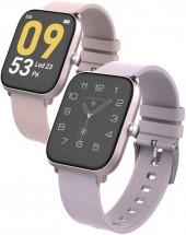 Smart hodinky iget FIT F45, ružové