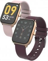 Smart hodinky iget FIT F45, zlaté