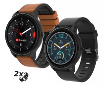 Smart hodinky iGET Fit F60, 2x remienok, čierne