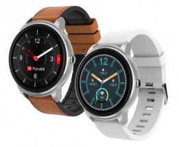 Smart hodinky iGET Fit F60, 2x remienok, strieborná