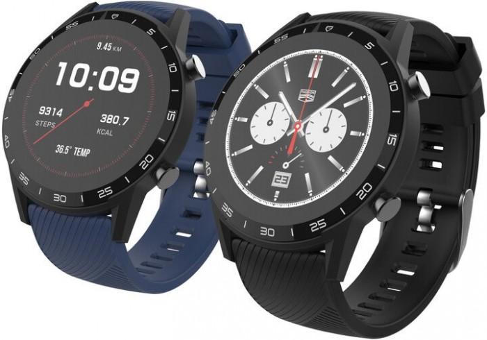 Smart hodinky iget FIT F85, čierne