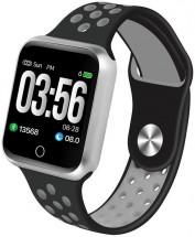 Smart hodinky Immax SW10, čierna/strieborná