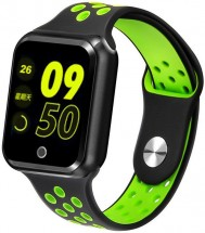 Smart hodinky Immax SW10, čierna/zelená