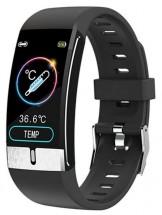 Smart hodinky Immax Temp Fit, s meraním teploty, čierna