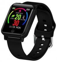 Smart hodinky Immax Temp Watch, s meraním teploty, čierna
