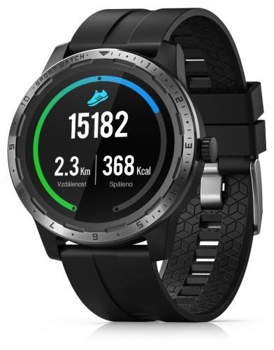 Smart hodinky Niceboy X-Fit Coach GPS, čierná