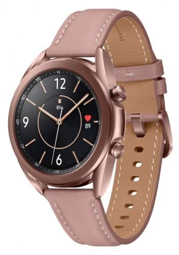 Smart hodinky Samsung Galaxy Watch 3, 41mm, bronzová