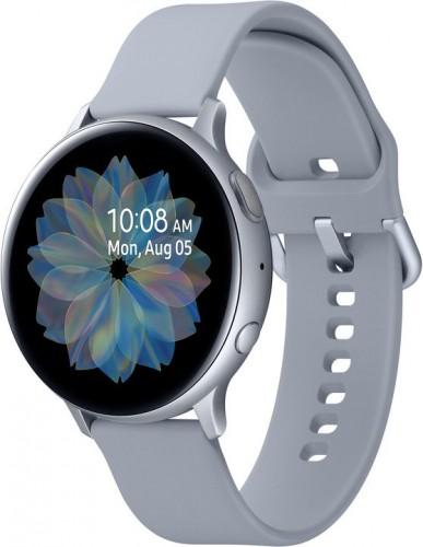 Smart hodinky Samsung Galaxy Watch Active 2, 44 mm, striebor