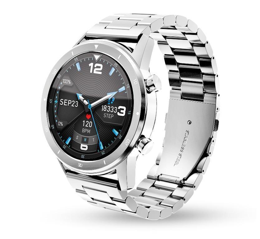 Smart hodinky Smart hodinky Aligator Watch PRO,strieborná +3 remienky v balení